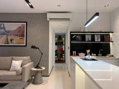 Minimalistic Modern Kitchen Living Room@Project Fennel