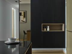 Contemporary Modern Foyer@Dark Contemporary House