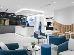 Minimalistic Modern Retail@Coway Experience Centre