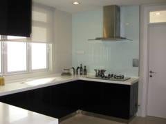 Minimalistic Modern Kitchen@Condominium 1889 Mont Kiara