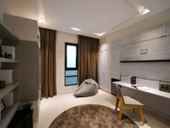 Minimalistic Modern Study Room@HighPark Studio A3