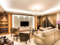 Classic Modern Balcony Living Room@Ceva Residence @ Bukit Utama