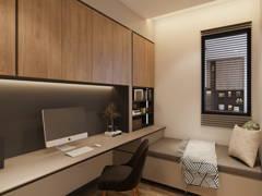 Modern Study Room@United Point Residence