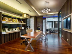 Contemporary Modern Study Room@Norman's Residence