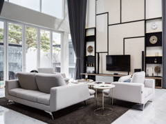 Contemporary Living Room@HAUS 57 | Modern Insight