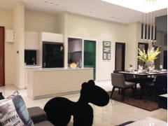 Contemporary Retro Kitchen Dining Room@Adda Heights Show Unit (3B)