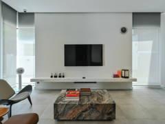 Asian Minimalistic Living Room@The Kim Chi Home