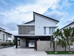 Modern Exterior@Urban Luxury Mansion Bungalow Residence