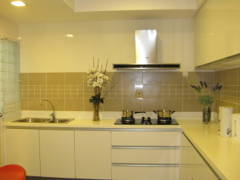 Contemporary Modern Kitchen@633 Condominium Mont Kiara