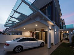 Contemporary Modern Exterior@Simple Modern Style - SEMI-D, SETIA ALAM