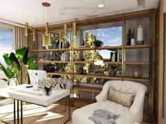 Modern Zen Living Room@THE RAFFLESIA, DAMANSARA PERDANA