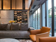 Contemporary Modern Living Room@The Mansion Residence