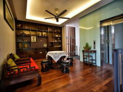 Asian Living Room@Kiara Residences