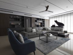 Contemporary Modern Living Room@Pavilion Hilltop