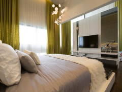 Contemporary Modern Bedroom@The Mansions A