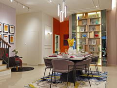 Modern Dining Room@Setia Safiro Show Unit Type A