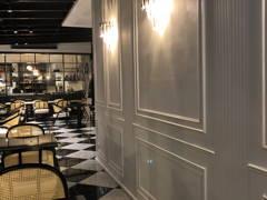 Minimalistic Rustic Dining Room F&B@Flour Restaurant