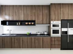 Contemporary Kitchen@LIVIA RESIDENCE, BANDAR RIMBAYU