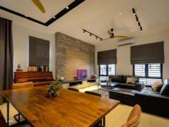 Industrial Modern Living Room@Cahaya Alam @ Shah Alam