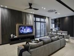 Contemporary Modern Living Room@Eco Ardence Setia Alam