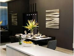 Retro Contemporary Dining Room@Adda Heights Show Unit (3B)