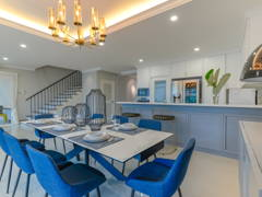 Classic Modern Dining Room@Armanee Terrace Condo
