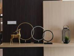 Contemporary Living Room@Embayu Show Unit