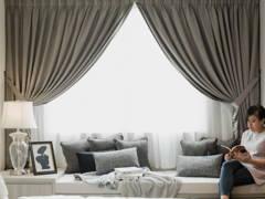 Contemporary Country Bedroom@DLaman Bungalow