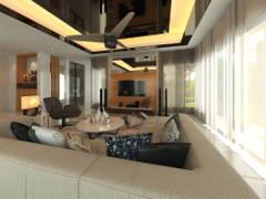 Contemporary Modern Living Room@Subang USJ 1