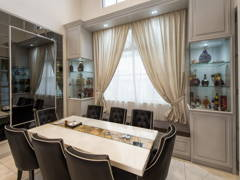 Classic Modern Dining Room@Eco Spring, Kent Residences, Johor Bahru