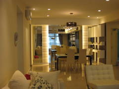 Contemporary Modern Dining Room@633 Condominium Mont Kiara