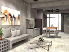 Bedroom Living Room@City Escape