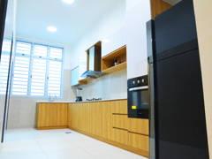 Minimalistic Kitchen@Austin Residence, Mount Austin Johor Bahru