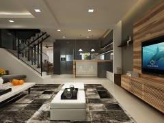 Contemporary Modern Dining Room Living Room@SS7, KELANA JAYA