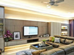 Living Room@Condo Modern