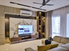 Contemporary Modern Bedroom@Terraza Eco Sanctuary