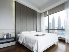 Contemporary Modern Bedroom@Banyan Tree Signatures