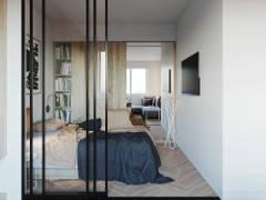 Modern Zen Bedroom Dining Room@Studio, Petaling Jaya, Selangor.