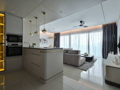 Contemporary Modern Kitchen Living Room@Casual Elegance