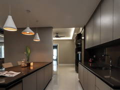 Contemporary Minimalistic Kitchen@Modern Luxury Residence at Mont Kiara 22