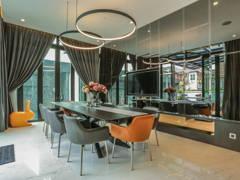 Minimalistic Dining Room@Building peace through Architecture &  Interior Design