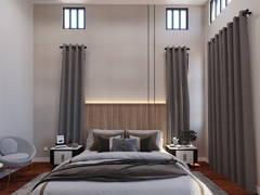 Contemporary Modern Bedroom@Eco Majestic