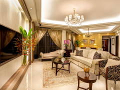 Contemporary Modern Dining Room Balcony@Ceva Residence @ Bukit Utama