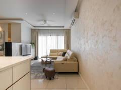 Contemporary Modern Foyer Living Room@Sky Realm @ Sky Condominium, Puchong
