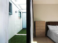 Contemporary Bedroom Garden@Ayu Residence
