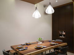 Minimalistic Modern Dining Room@Terrace House - Kepong Baru