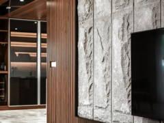 Modern Living Room@Urban Luxury Mansion Bungalow Residence