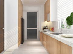 Contemporary Modern Kitchen@Eco Spring Bradford