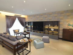 Contemporary Modern Living Room@9 Bukit Utama Show Unit (Block B2)