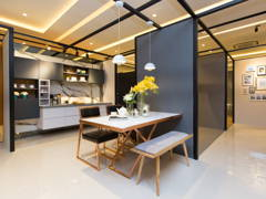 Contemporary Modern Dining Room@The Haute Show Unit